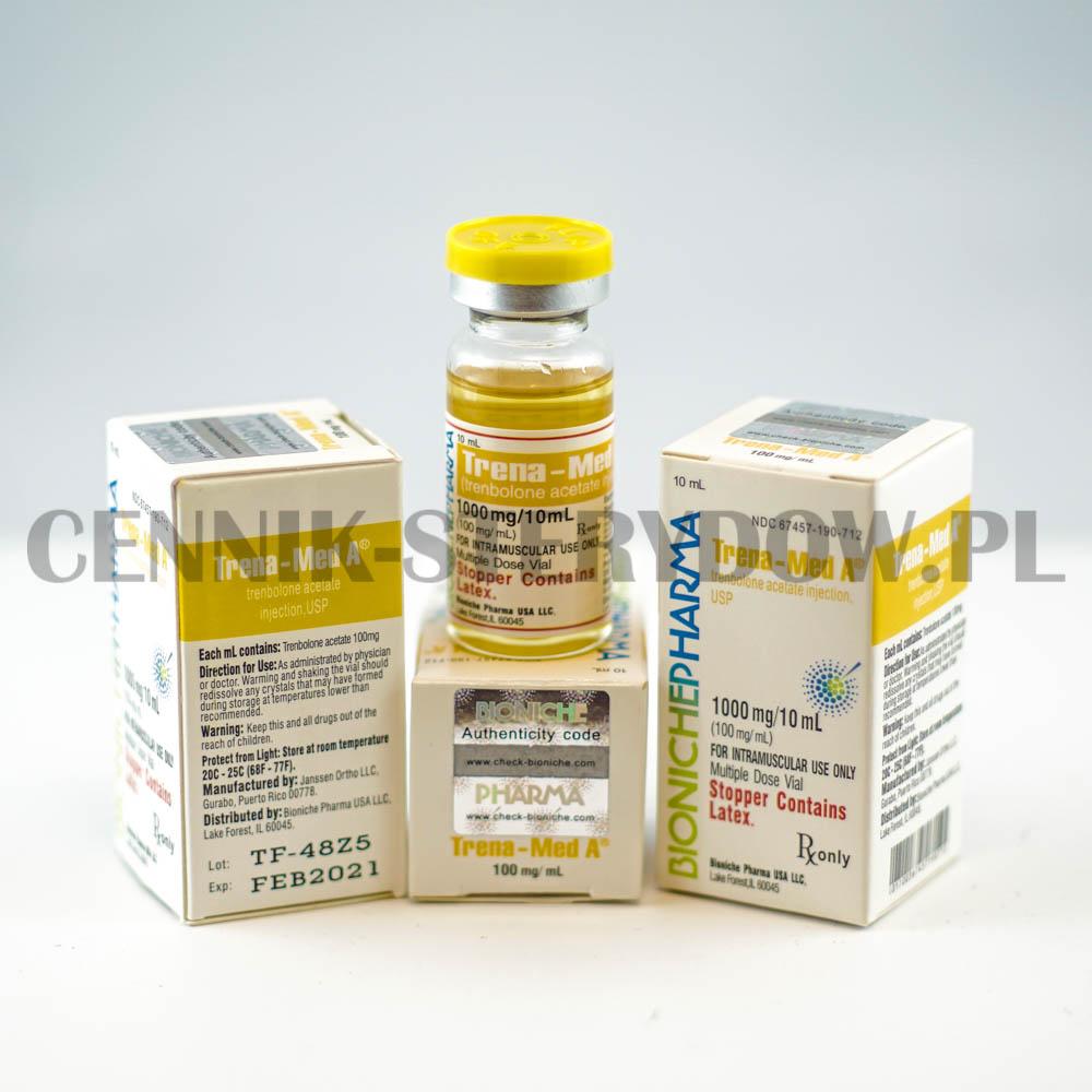 trenbolone acetate bioniche sterydy cennik